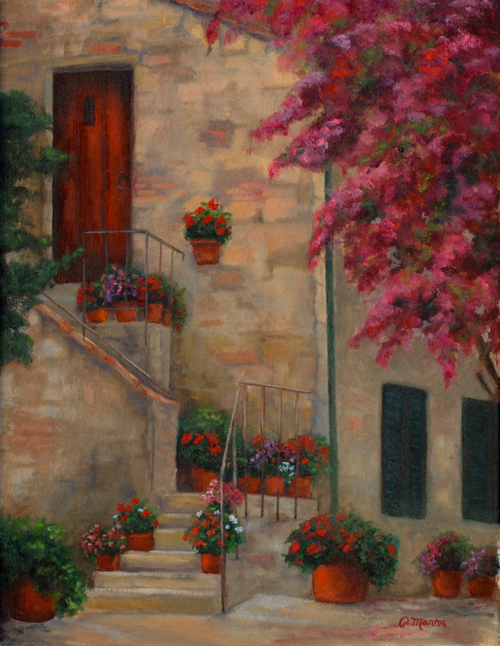 Tuscan Stairs