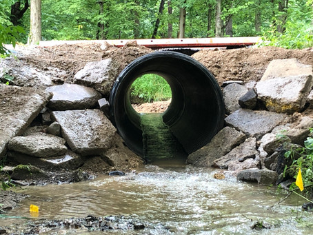 Stream Crossing Project Underway
