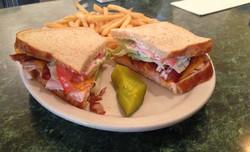 Turkey, Cheddar, Bacon Sandwich