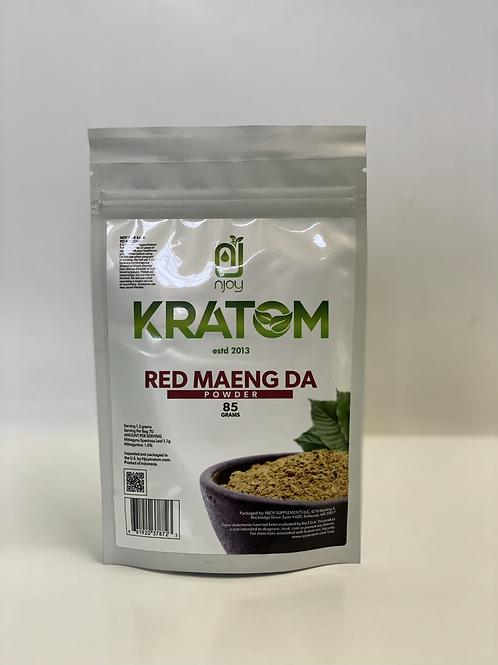 red maeng da 85gram Kratom powder