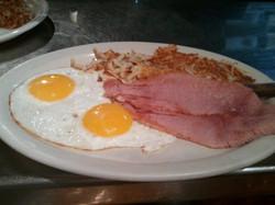 Eggs and Ham... Ham off the bone!!