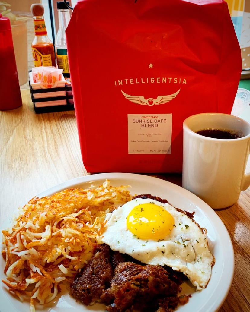 Sunrise cafe Intelligentsia coffee and r