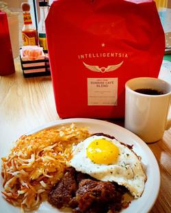 Sunrise cafe Intelligentsia coffee and r