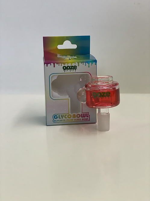 Ooze 14mm slider with glycerin