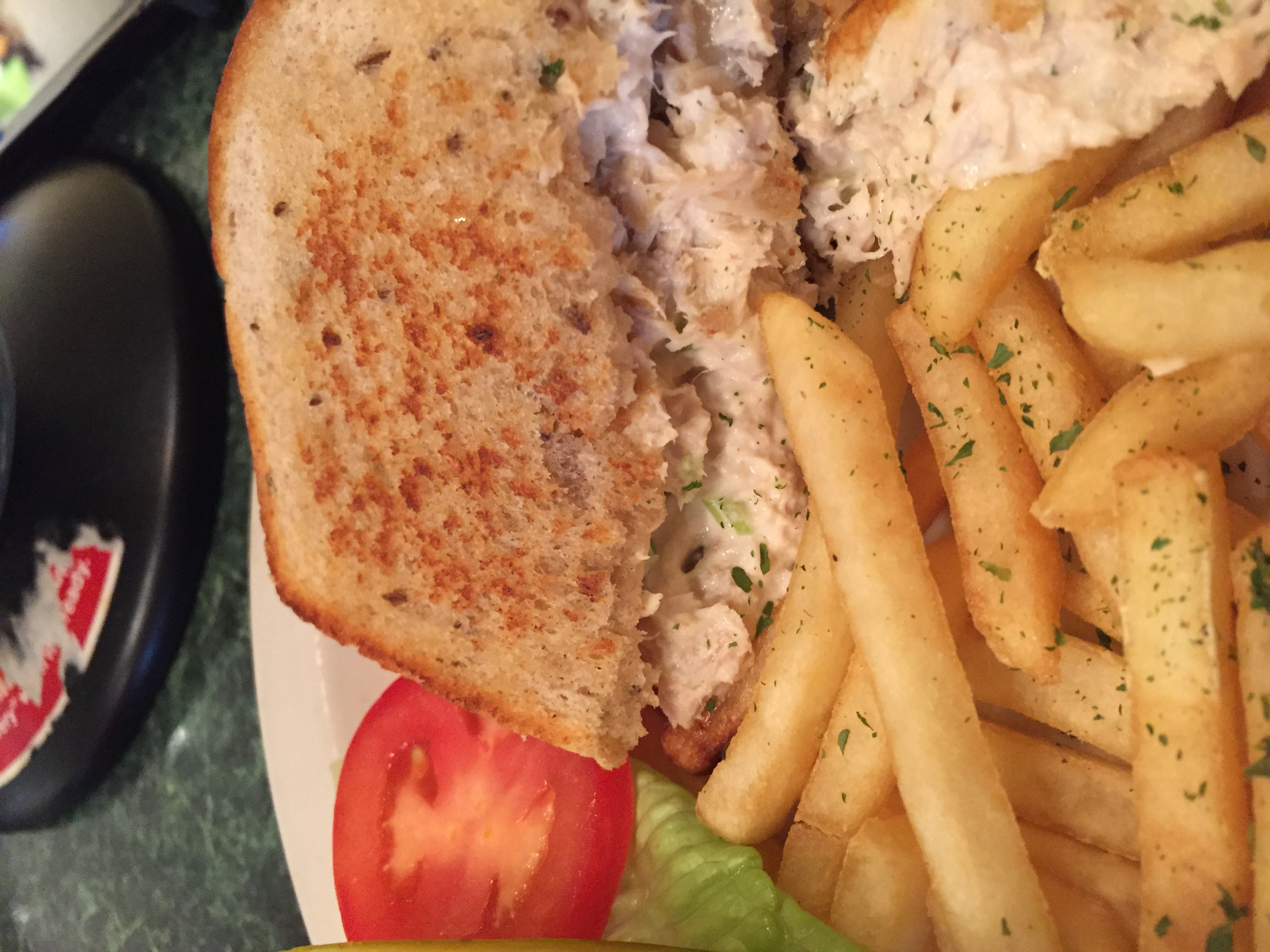 Sunrise Cafe Tuna Melt