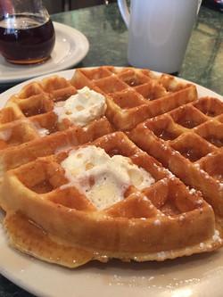 Sunrise Cafe Waffle