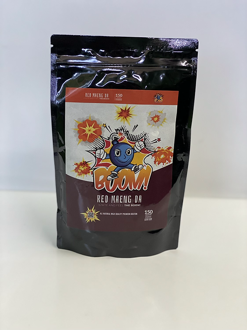 Boom 150g powder Red Maeng da Kratom