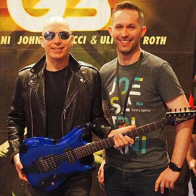 Joe Satriani and I