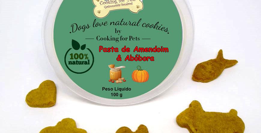 Biscoito para cães : Pasta de Amendoim & Abóbora 100 g