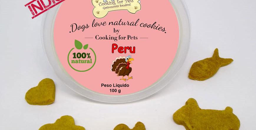 Biscoito para cães : Peru 100 g