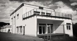 Kantinen- und Konferenzgebäude