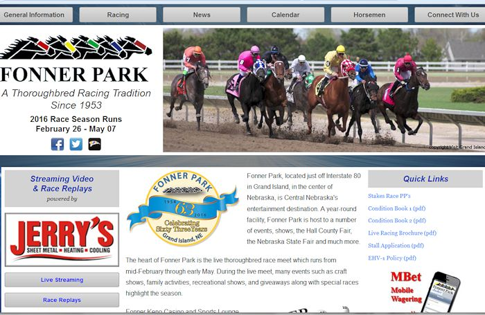 Fonner Park Thoroughbred Racing