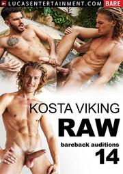 Bareback Auditions 14: Kosta Viking Raw