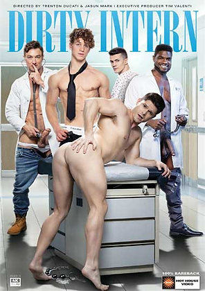 Bareback, Big Cocks, Deep Throat, Feature, Interracial, Muscled Men, Natural Body Hair, Nurses / Doctors, Office, Rimming