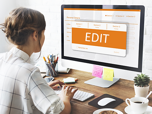 Deep Edit: A comprehensive re-write/edit