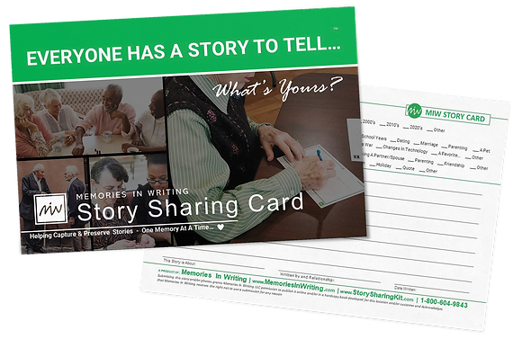 Story Sharing Activity Card Pack (25 cards)