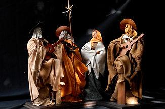 Escultura Gaucho Cuero