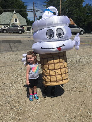 Our own Dairy Grove mascot!