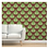 Thumbnail: Green Tree on Rust Background Wallpaper