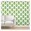 Thumbnail: Green Trees on White Wallpaper