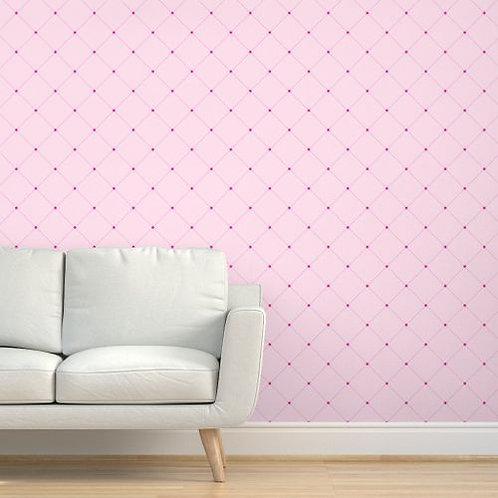 Pink Quilt Wallpaper