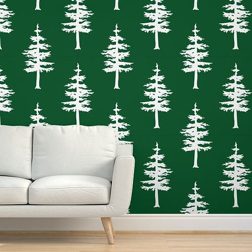 Winter Trees Wallpaper & Home Decor