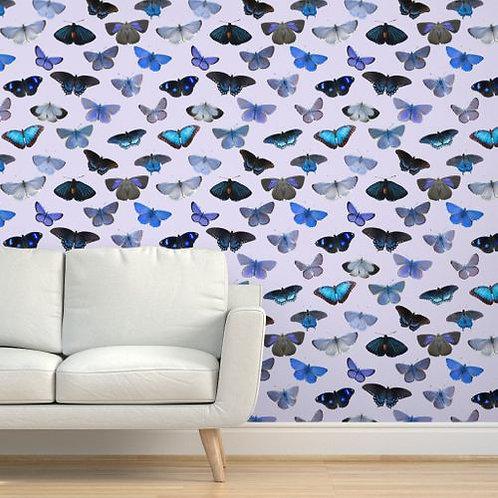 Blue Butterflies Wallpaper