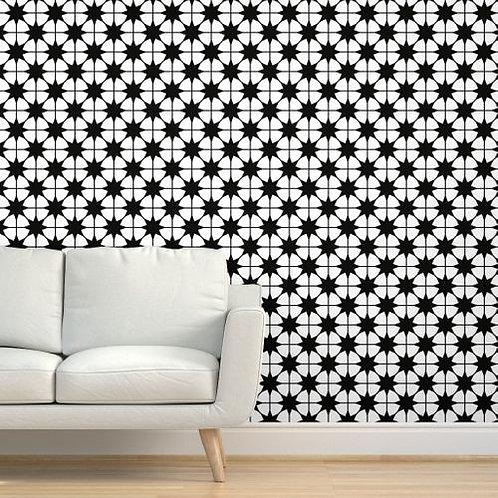 8pt Stars Wallpaper or fabric