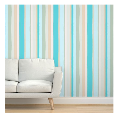 Beach Stripes Wallpaper