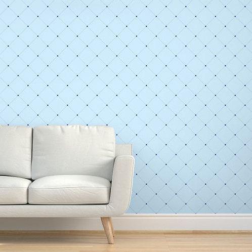 Blue Quilt Wallpaper