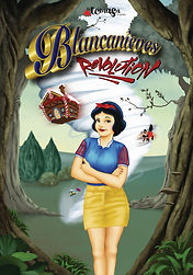 Cartel Blancanieves Revolution con logo.