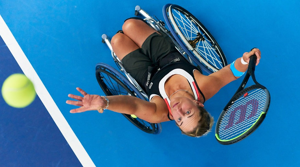 Lucy Shuker Wheelchair Tennis