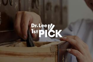 """Dr. Lee 1st PICK"" 브랜드 아이덴티티 디자인"