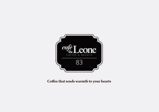 카페 리온 브랜딩