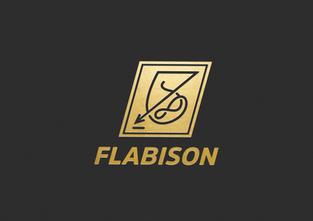 """FLABISON Entertainment"" 브랜드 아이덴티티 디자인"