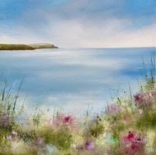 Trevone Bay on Canvas