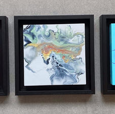 Fluid Art Triptych