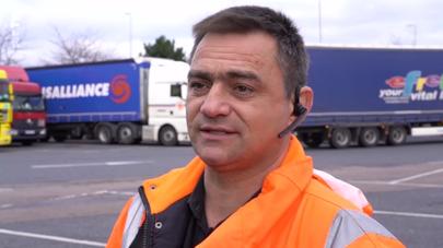 Le chauffeur routier roumain et le Brexit