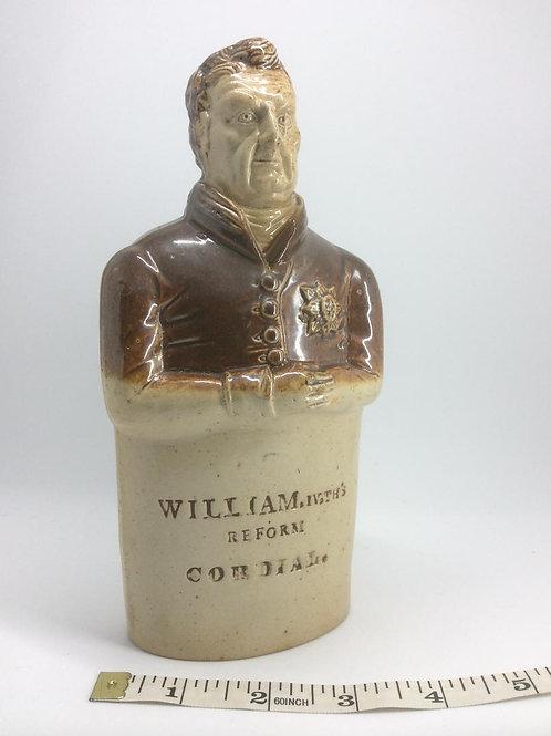 Bourne William IV reform flask