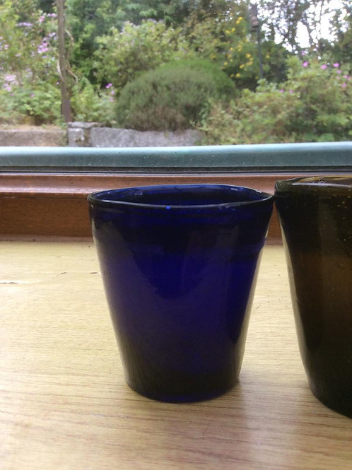 Blue Candle Cup