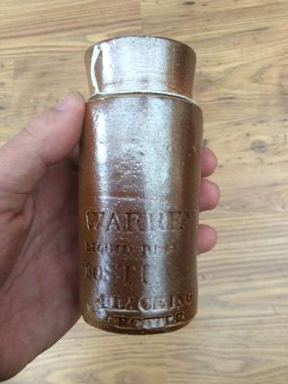 Warren's Blacking bottle