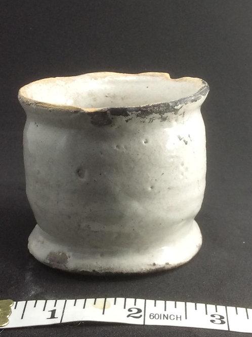 Large tinglazed ointment c1650