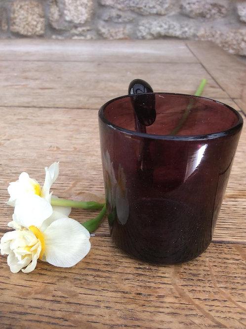 Mini handled amethyst cup