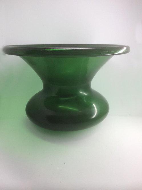Rare green glass Georgian spitoon