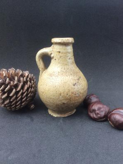 1700 stoneware oil jug