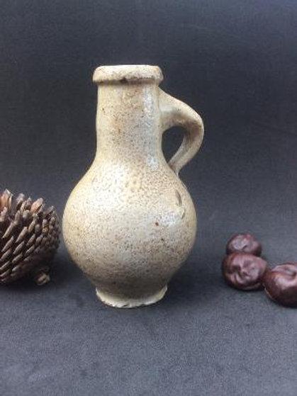 Small Stoneware Oil Bottle c1650