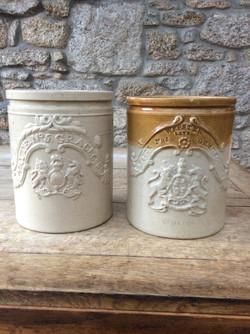 Stoneware shop display pots