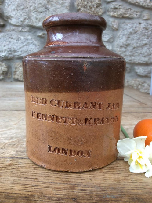 Impressed recurrant preserves jar 1830