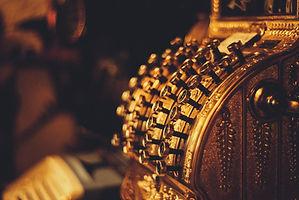 antique cash machine