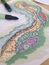 Landcape plan graphic